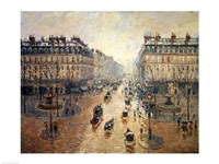 Avenue de L'Opera, Paris, 1898 Fine Art Print
