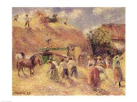 The Harvest, 1883 Fine Art Print