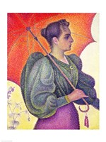 Woman with a Parasol, 1893 Fine Art Print