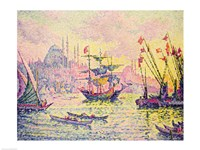 View of Constantinople, 1907 Fine Art Print