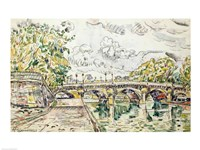 The Pont Neuf, Paris, 1927 Fine Art Print