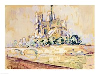 Notre Dame, 1885 Fine Art Print