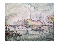 Ile de la Cite, Paris, 1912 Fine Art Print
