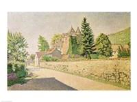 Chateau de Comblat, c.1887 Fine Art Print