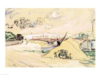 The Pile of Sand, Bercy, 1905 Fine Art Print