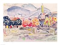 Le Paillon, Nice, 1921 Fine Art Print
