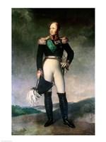Alexander I of Russia Fine Art Print