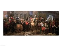 Entry of Henri IV into Paris, 22nd March 1594 Fine Art Print