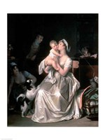 Motherhood, 1805 Fine Art Print