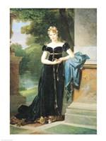 Portrait of Marie Laczinska Fine Art Print