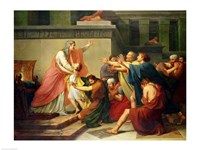 Joseph Recognised by his Brothers Fine Art Print