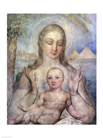 The Virgin and Child in Egypt, 1810 Fine Art Print