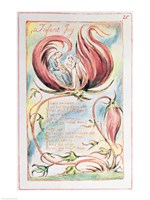 Songs of Innocence; Infant Joy, 1789 Fine Art Print