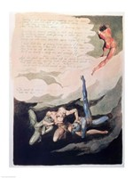 Europe a Prophecy 'Unwilling I look up', 1794 Fine Art Print