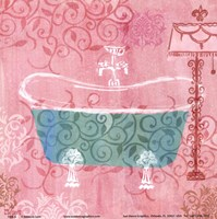 Decorative Tub Fine Art Print