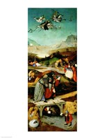 Temptation of St. Anthony Fine Art Print