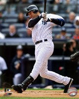 Derek Jeter 2011 Action Fine Art Print