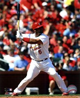 Albert Pujols 2011 Action Fine Art Print