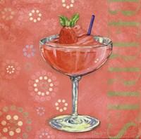 Calypso Cocktails I Framed Print