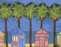 Cabana Breeze - mini Fine Art Print