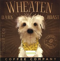 Wheaten Dark Roast Framed Print