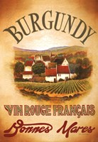Burgundy Framed Print