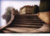 Villa Largo di Como Fine Art Print