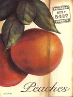 Organic Peaches Fine Art Print