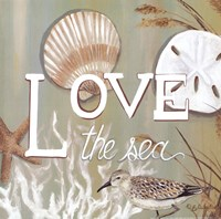 Love the Sea Fine Art Print