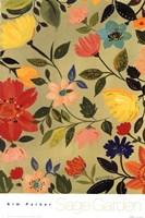 Sage Garden I Fine Art Print