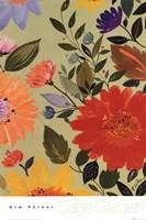 Sage Garden II Framed Print