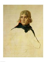 Unfinished portrait of General Bonaparte Fine Art Print