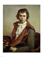 Self Portrait, 1794 Fine Art Print