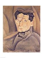 Portrait of Maurice Raynal Fine Art Print