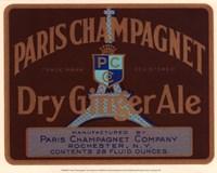 Paris Champagnet Fine Art Print