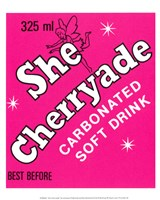 She Cherryade Fine Art Print