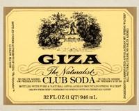 Giza Club Soda Fine Art Print