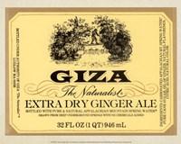 Giza Ginger Ale Fine Art Print