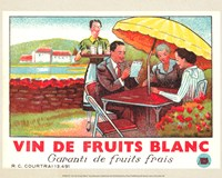 Vin De Fruits Blanc Fine Art Print