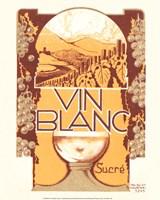 Vin Blanc Sucre Framed Print