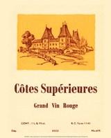 Cotes Superieures Framed Print