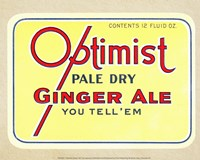 Optimist Ginger Ale Fine Art Print