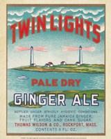 Twin Lights Ginger Ale Fine Art Print