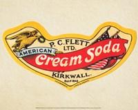 American Cream Soda Fine Art Print