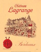 Chateau Lagrange Bordeaux Fine Art Print