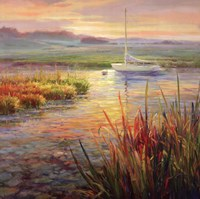 Sunset Marsh Fine Art Print