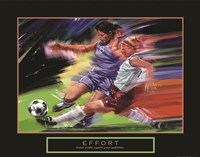 Effort - Soccer Fine Art Print