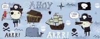 Ahoy Matey I Framed Print