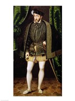 Portrait of Henri II Fine Art Print