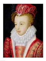 Marguerite de Valois Fine Art Print